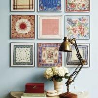 decoracao-com-tecido-quadros
