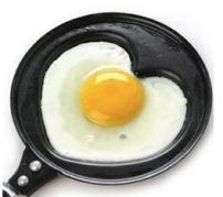 Frigideira em forma de coração - Fábrica9 - R$19,90