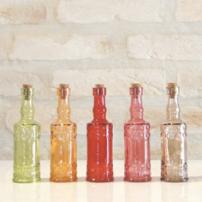 Mini garrafas - Tranqueira Chic - R$9,90