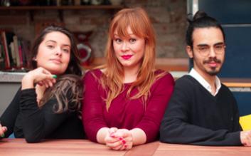 Mariana, Isadora e Frederico. Foto: gastronomismo.com