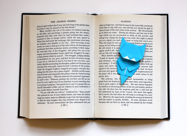 origami-kitten-bookmark