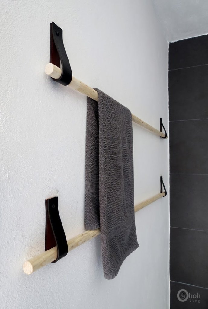 diy towel holder 3