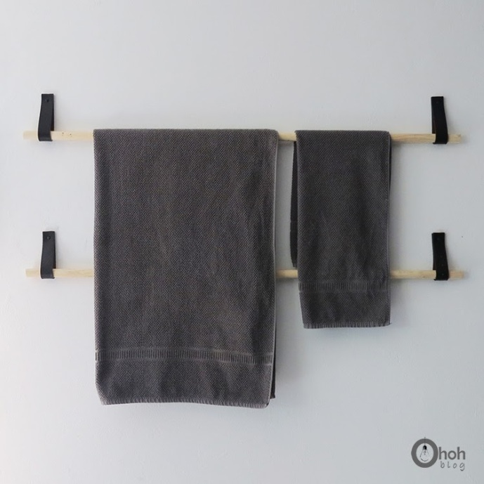 diy towel holder 5