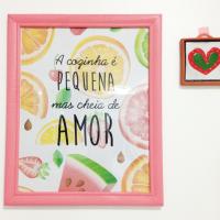 Para imprimir e colocar na parede da cozinha!